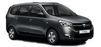 Dacia Lodgy 7 Passenger / similar vehicle groups